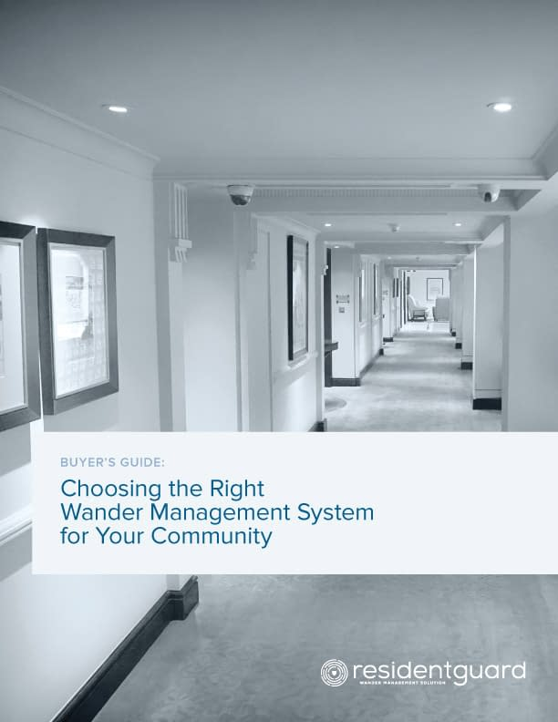choosing the right wander management system buyers guide cover
