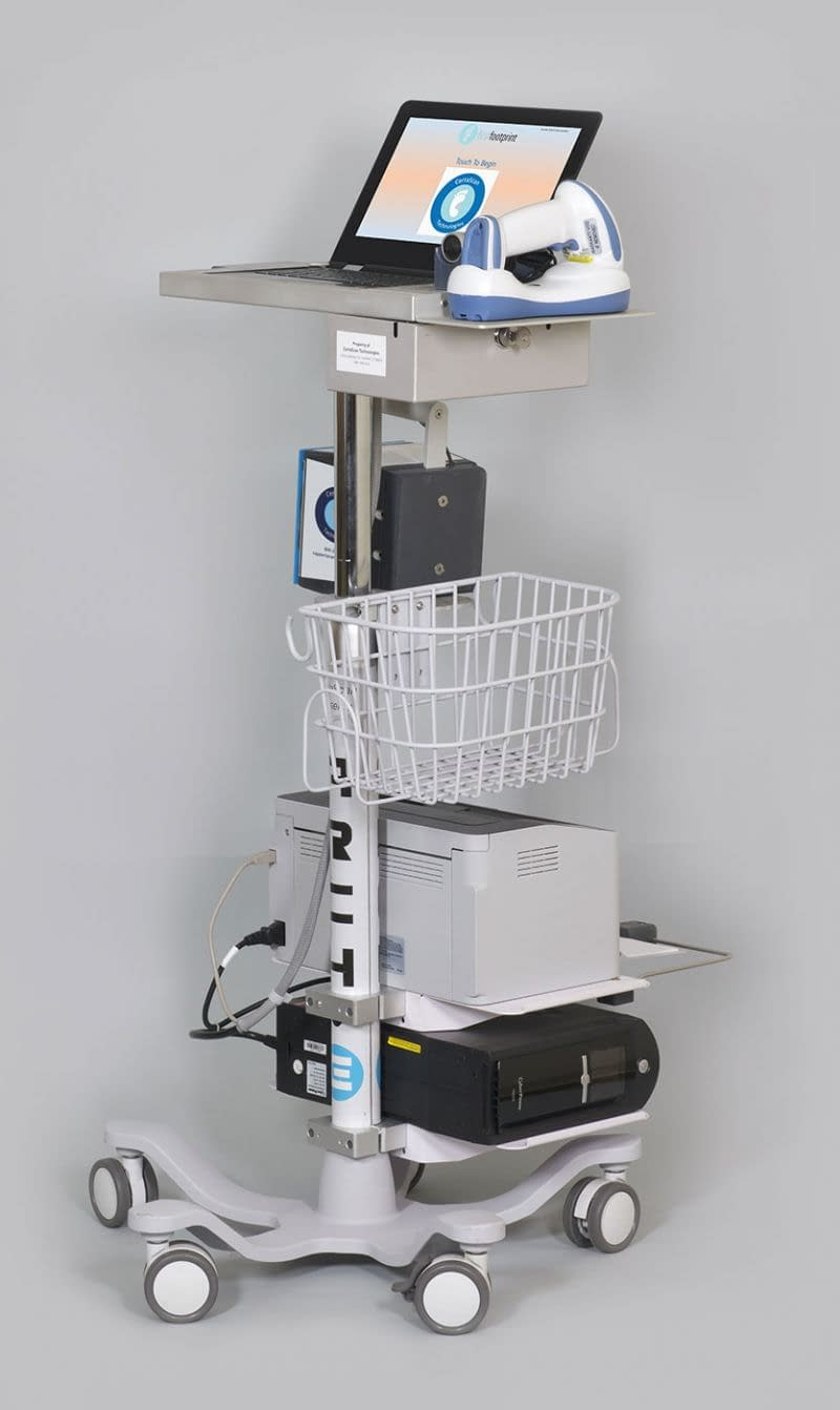 Certascan Footprint Scanner
