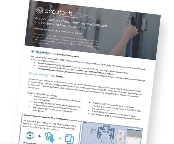 information about accutech access ingress and egress points