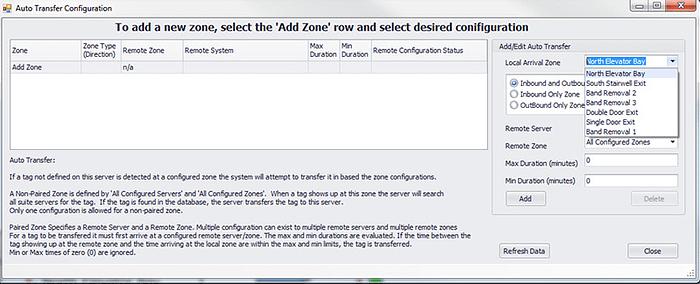 7.2 Tag Transfer Configuration3
